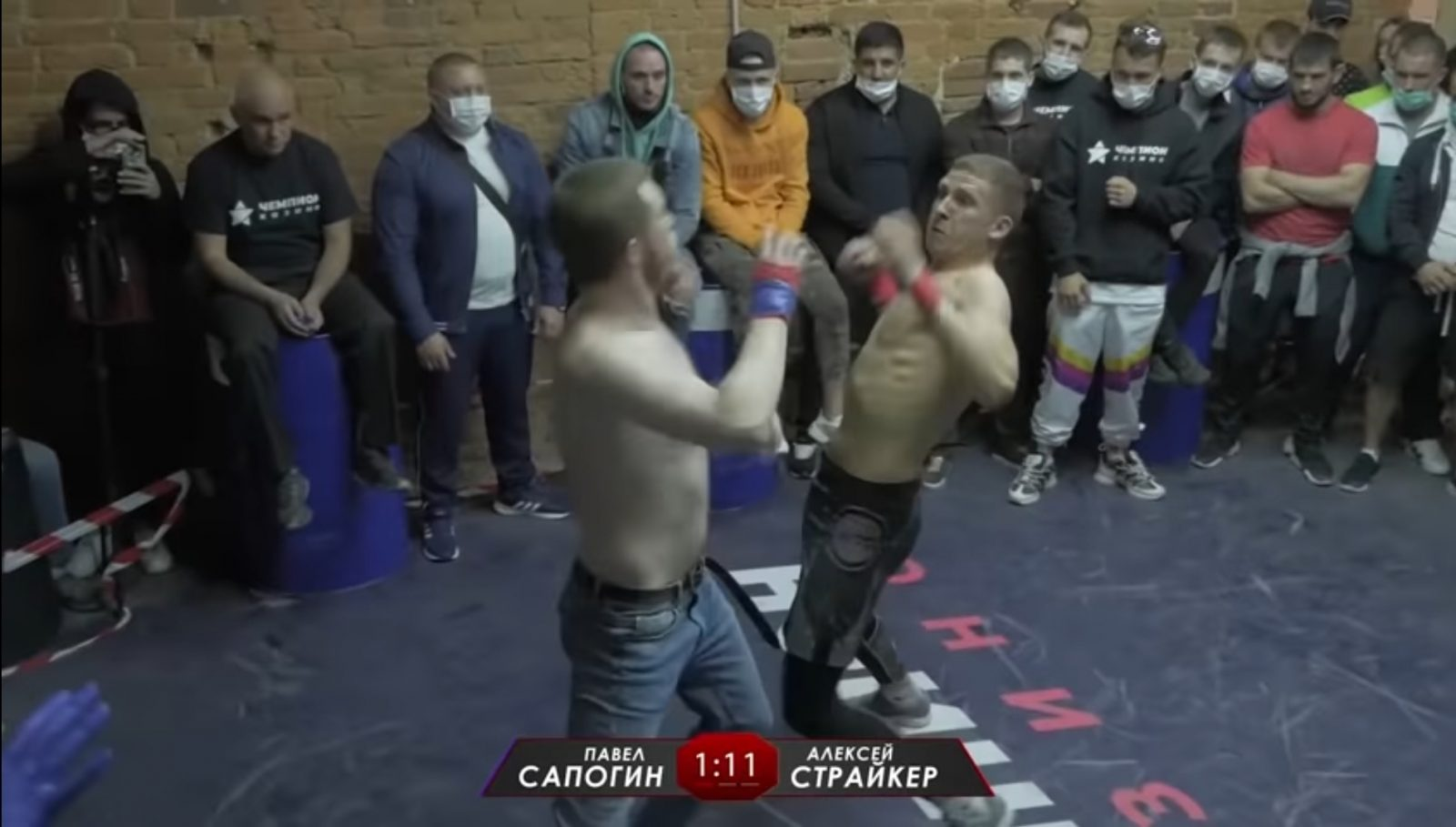 "Alexei ""STRIKER"" vs Paul ""High BOOT"""