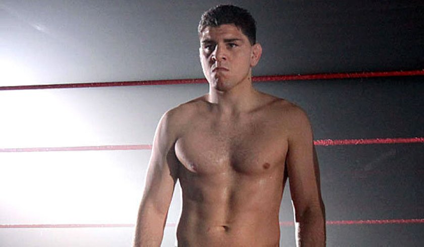 Nick Diaz  to znany – triathlonista.